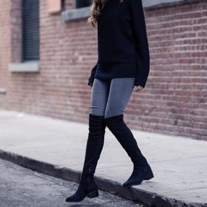 Sole Society over the knee suede boots